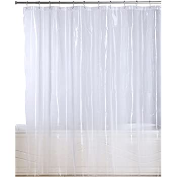Awesome Utopia Bedding Premium Mildew Resistant Shower Curtain Anti Bacterial  Heavy Duty Waterproof Liner   72x72 Inch   By (EVA 10 Gauge Clear)