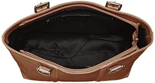 Gris à Made 34x30x11cm Italy Fango cuir in classique 100 MC Sac femmes élégant main pour OwwC4q