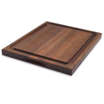 John Boos & Co. Reversible Walnut Cutting Board SLTWAL211715-O3 , 21''x17''