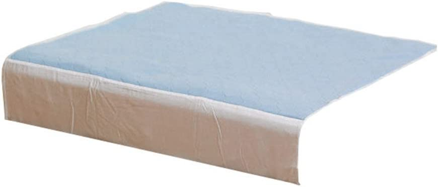 Kylie Premium Bed Pads for Double Bed, Blue, 4 Litre (Eligible for VAT Relief in The UK)