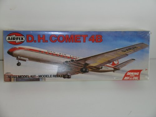 Airfix D.H. Comet 4B Jet Airliner Plastic Model Kit by Airfix