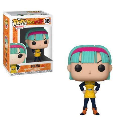 Funko Pop Animation: Dragonball Z - Bulma (Yellow Outfit) Collectible Figure, Multicolor -
