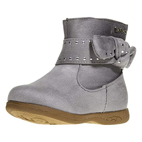 Pictures of bebe Toddler Girls Microsuede Boots Size 7 4