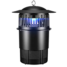 Electronic Bug Zapper, PICTEK 3 in 1 UV Backlight Mosquito Trap System 80W, Water Resistant Pests Fly Control Repeller Insect Killer Zapper, Large Safe and Effective for Home/ Hotel/ Restaurant