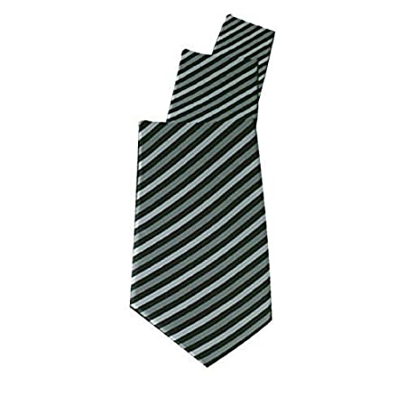 Obras uniformes corbata gris de la raya estrecha: Amazon.es: Hogar