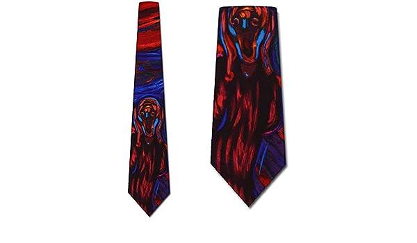 La corbata del grito por el arte de Munch Corbatas: Amazon.es ...