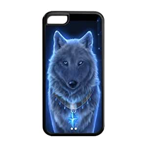 The Blue Wolf iPhone 5C Case Cover