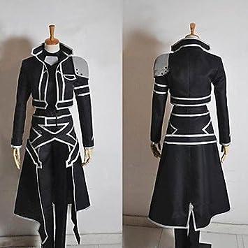 Sword Art Online Alfheim Online Kirito traje cosplay (Envíenos un ...