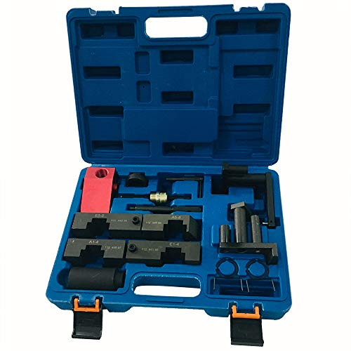 SUNROAD Camshaft Alignment VANOS Timing Locking Tool Kit Compatible fit for 1993-2005 BMW M60 M62 M62TU Camshaft Alignment Timing Tools (Bmw M62 Timing Chain Tensioner)