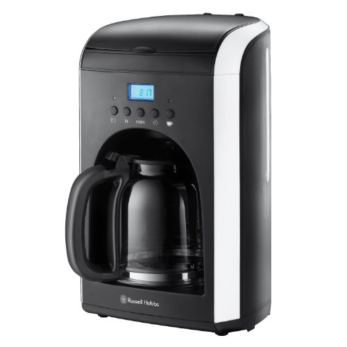 Russell Hobbs 18536-56 Mono Collection - Cafetera de goteo, 1,8 L, 14 a 20 tazas, 1000 W, pantalla LCD