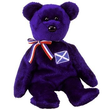 6368b8cf61f Image Unavailable. Image not available for. Color  TY Beanie Baby - SCOTLAND  the Bear ...