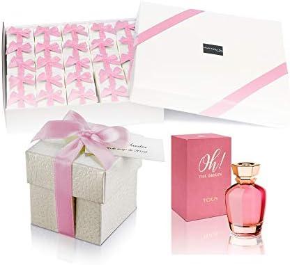 Pack 25 mini perfumes de mujer como detalles de boda para invitados Oh! The Origin Eau de parfum 4,5 ml. original: Amazon.es: Hogar
