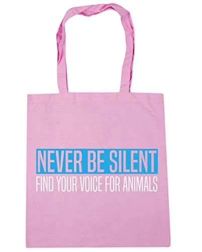 Gym Pink litres Be Classic 10 x38cm For Voice Silent HippoWarehouse Beach Your Shopping Bag Animals 42cm Find Tote Never vnpTa5TqwU
