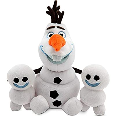 Disney Olaf and Snowgies Plush Bundle - Mini Bean Bag - 8'' - Frozen Fever by Disney Frozen: Toys & Games