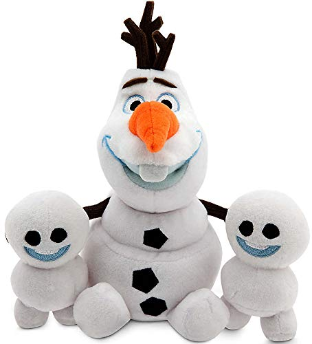 Disney Olaf and Snowgies Plush Bundle - Mini Bean Bag - 8