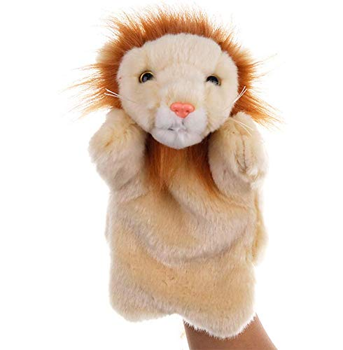 - Astra Gourmet Lion Glove Puppet Animal Hand Puppet Role-Play Toy Puppets for Kids Plush Toys Storytelling Game Props