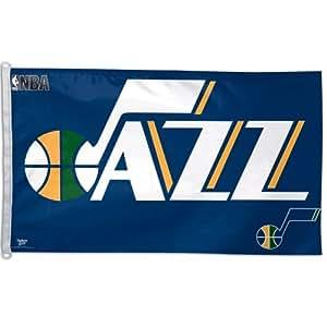 UTAH JAZZ OFFICIAL LOGO 3FTX5FT BANNER FLAG