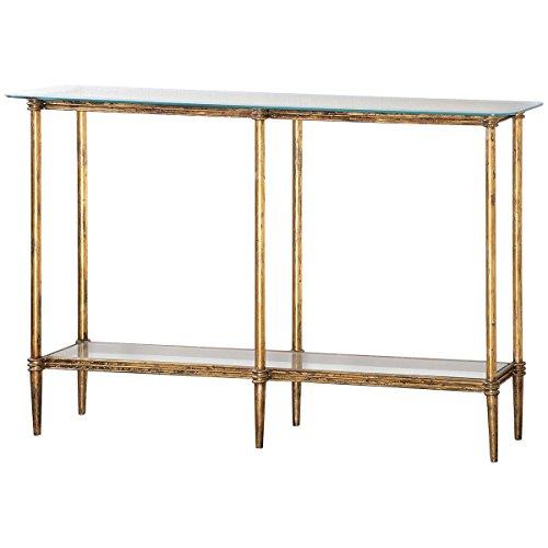 Uttermost Elenio Collection Glass Console Table