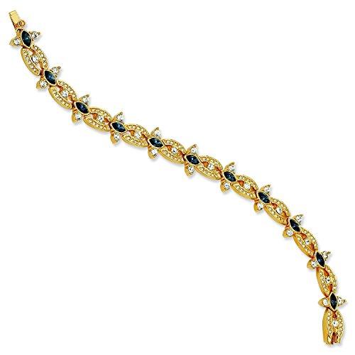 gold-plated-swarovski-crystal-blue-deco-725in-youtube-bracelet