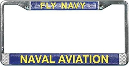Fly Frames (Fly Navy Naval Aviation License Plate Frame)