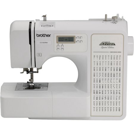 Model CE1100PRW Computerized 100-Stitch Project Runway Sewing Machine by Brother