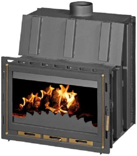 Chimenea Insertar - Caja de cerillas para estufa de leña construido combustible sólido 14 kW: Amazon.es: Bricolaje y herramientas