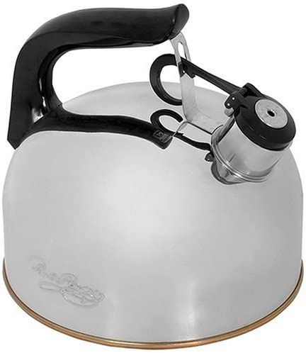 Revere Whistling Tea Kettle, 2-1/3-Quart