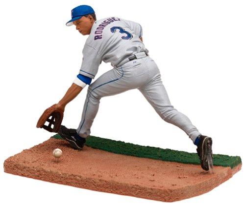 McFarlane MLB Series 8 Alex Rodriguez Action Figure Texas Rangers Grey Chase - Rodriguez Alex Figure