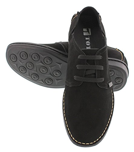 Toto Height 2 X585601 Shoes Casual Black Inches Lightweight Taller Increasing Elevator Shoes 6 rUgrXqw
