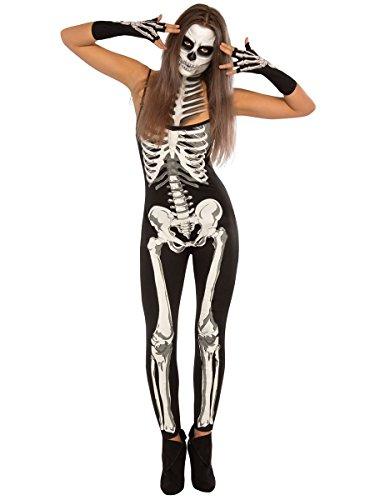 (Rubie's Costume Co Women's Suzy Skeleton Costume, Multi,)