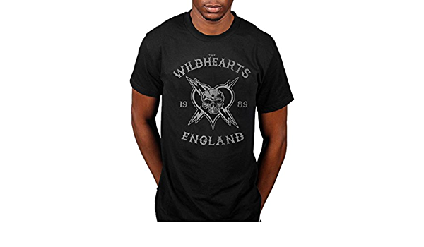 Official The Wildhearts England 1989 T-Shirt Fishing For Luckies Endless Name