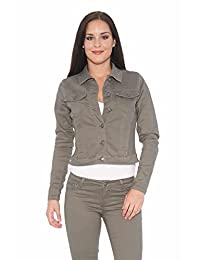 Suko Jean Stretch Twill Jacket for Women with lace-up cuff