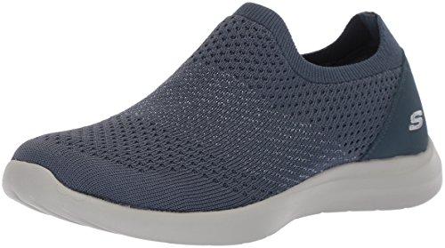 Skechers Calzado Deportivo Para Mujer, Color Negro, Marca, Modelo Calzado Deportivo Para Mujer TUDIO Comfort Premiere Clas Negro Azul
