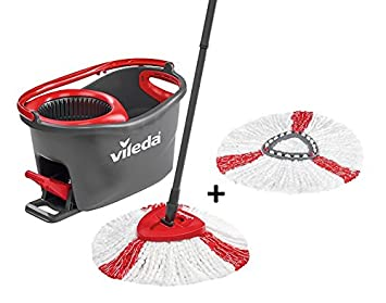 Vileda Easy Wring Clean Turbo Set Besen Mit Eimer 2 Refill Amazon