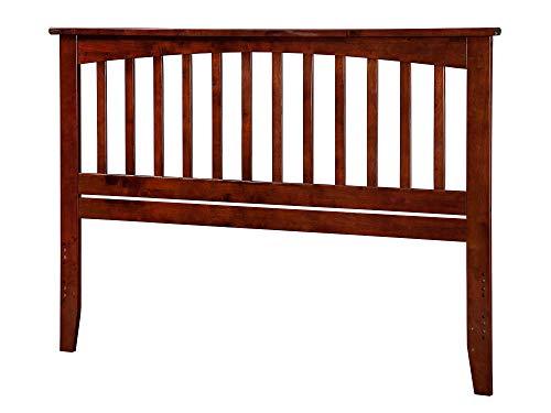 Mission Style Headboard Wood (Atlantic Furniture Mission Headboard, Queen, Antique Walnut)