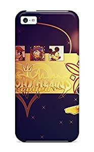 New Premium LrUKFPy2231DRLcF Case Cover For Iphone 5c/ Kingdom Hearts Video Game Other Protective Case Cover