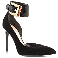 Guess Adal Suede Sandals, Black, Size 8.5