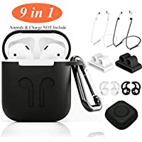 9 in 1 Airpods Accessories Kits w/Case Cover (Several Colors)