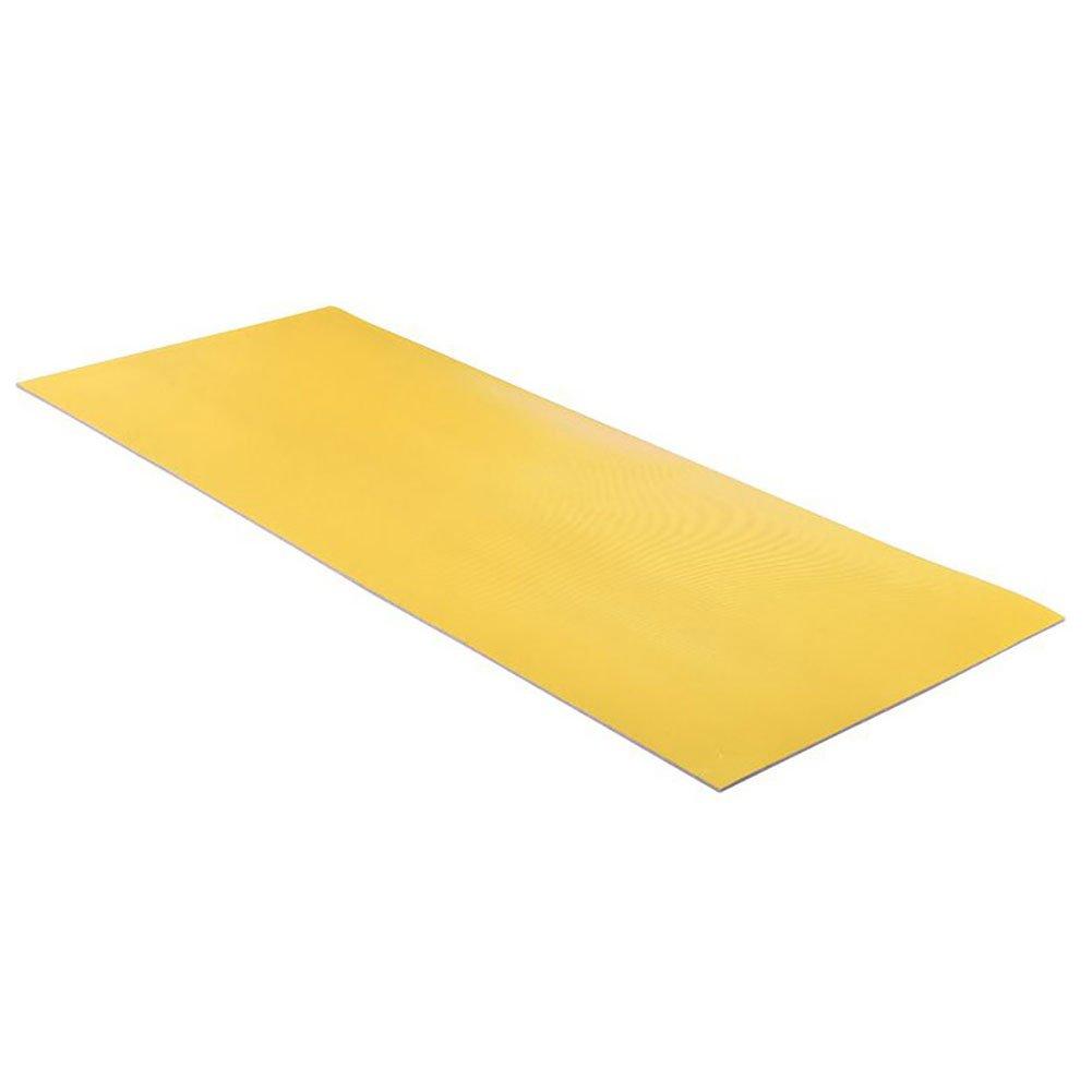 Comfortable Non-Slip Fitness Mat Sports Blanket Comfortable Non-Slip Yellow 160x60cm, 7mm Thick Pilates