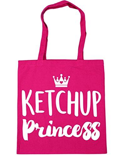 princess HippoWarehouse Tote Beach 10 Bag 42cm x38cm Gym Fuchsia Shopping litres AqwCdxB4q