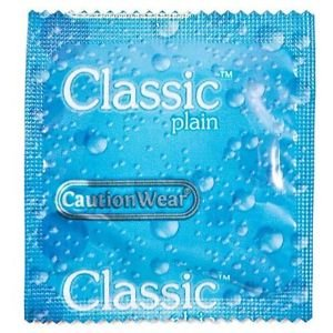Caution Wear Condoms - Classic (Slippery When Wet)- 1000pk by Caution Wear