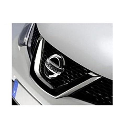 Original Nissan Qashqai 2014- J11 rejilla delantera insignia emblema 628904ea0 a: Amazon.es: Coche y moto