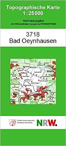 Bad Oeynhausen N Topographische Karten 1 25000 Tk 25 Nordrhein