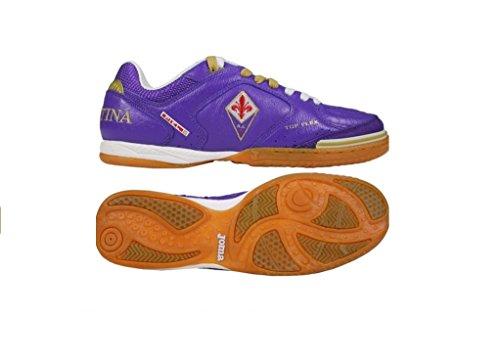 Joma - Zapatillas de fútbol sala de Piel para hombre violeta violeta 40.5
