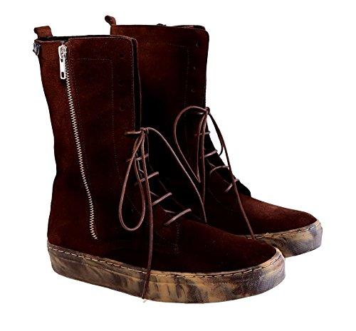 Quui  Kamet,  Damen Combat Boots Braun