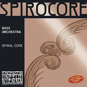Thomastik-Infeld Spirocore 3/4 Upright Double Bass String Set - Thin/Weich Gauge