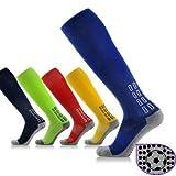 Soccer Socks For Men -Soccer Socks For Women - Men Women Anti-Skid Soccer Socks Compression Football Stockings Thick Towel Bottom (Soccer Socks For Adults)