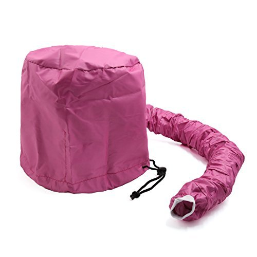 Amazon.com: eDealMax Rose Red portátil rápido secado de Pelo Cap Salón del Capo secador del soplo Conectar Sombrero: Health & Personal Care