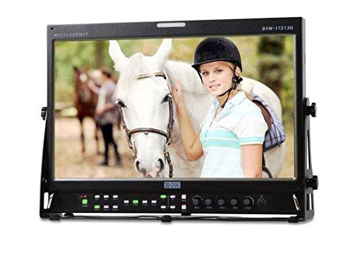 BON BXM-173T3G 17.3 Inch 3G/HD/SD-SDI & HDMI LCD Studio Broadcast & Production Monitor with PIP/Waveform & Vectorscope