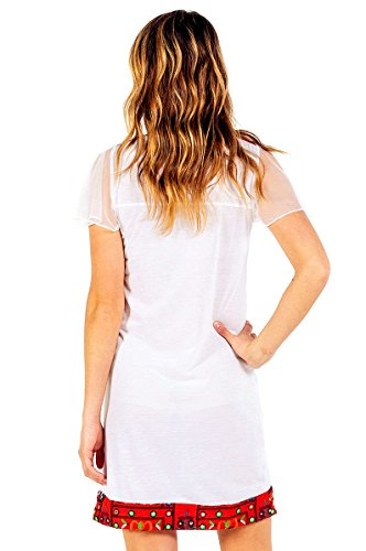 Femme Sorrento 007 Culture white Robe White Savage O01qw1
